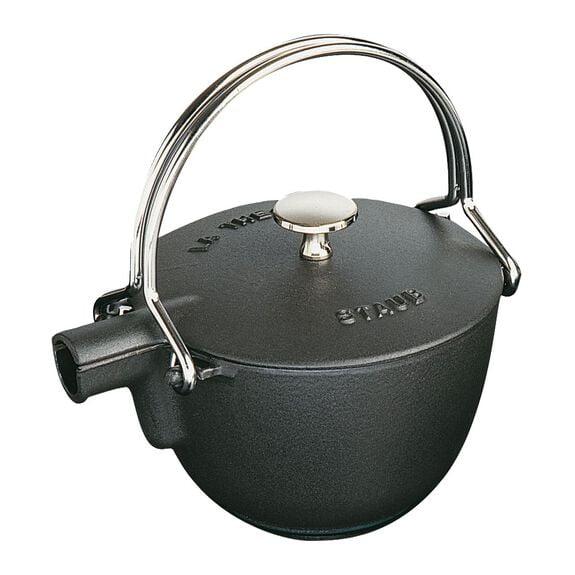 CAST IRON 1-QT ROUND TEA KETTLE