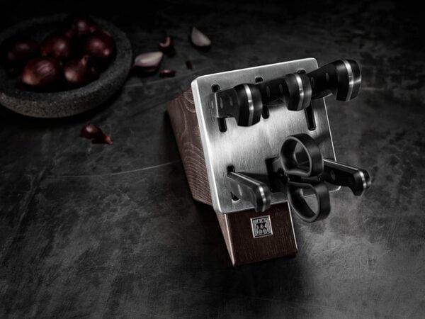 ZWILLING® Gourmet Self-sharpening knife block, ash wood, 7-pcs., | Brown |  36133-000-0