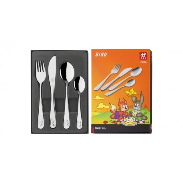 ZWILLING® Twin Kids Bino Children's flatware set, 4-pcs. 07009-210
