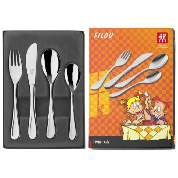 ZWILLING® Twin Kids Filou Children's flatware set, 4-pcs 07011-210