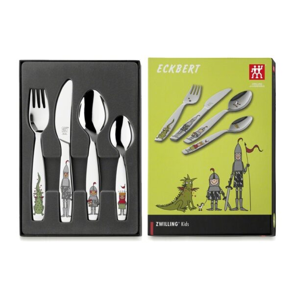 ZWILLING® Kids Eckbert Children's flatware set, 4-pcs 07132-210