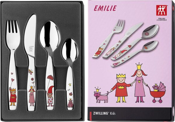 ZWILLING® Kids Emilie Children's flatware set, 4-pcs 07136-210