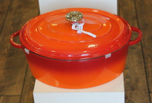 STAUB  Cocotte, 31 cm | Oval | Orange 1343119
