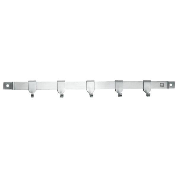 ZWILLING® TWIN Cuisine Wall rack, 40 cm, 5 hooks  |Silver | 37470-040