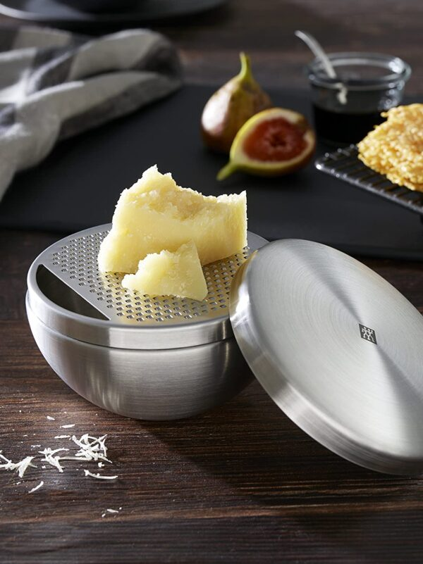 ZWILLING® TWIN Pure Parmesan grater, 11 cm | Silver |  37532-000-0