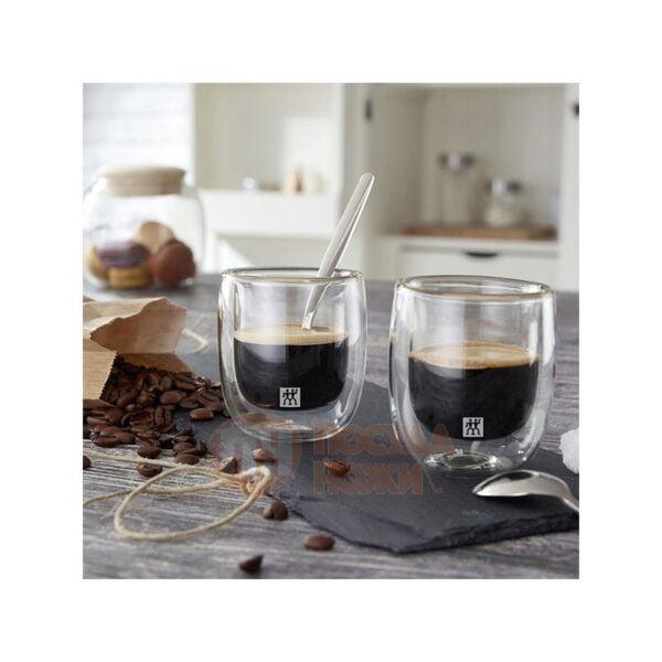 ZWILLING® Sorrento Espresso glass set, 2-pcs 80 ml 39500-075
