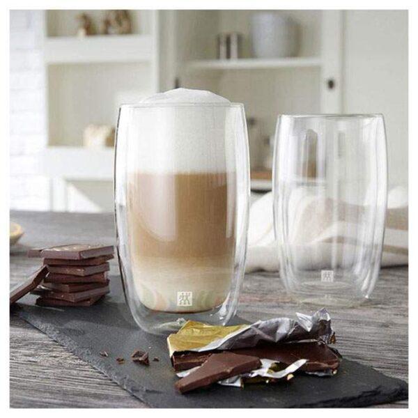 ZWILLING® Sorrento Latte glass set, 2-pcs, 350 ml 39500-078