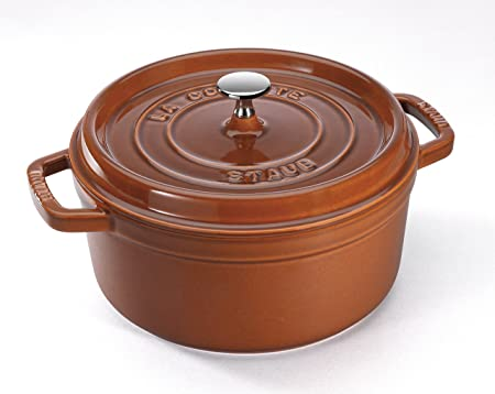 STAUB Round Cocotte, 28 cm | 6.7 L | Cinnamon  40511-298