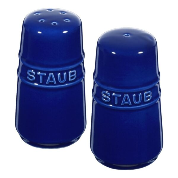 STAUB Ceramic Salt & Pepper Shakers