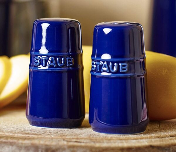 Staub Salt & Pepper Shaker Dark blue | ceramic | 40511-809-0