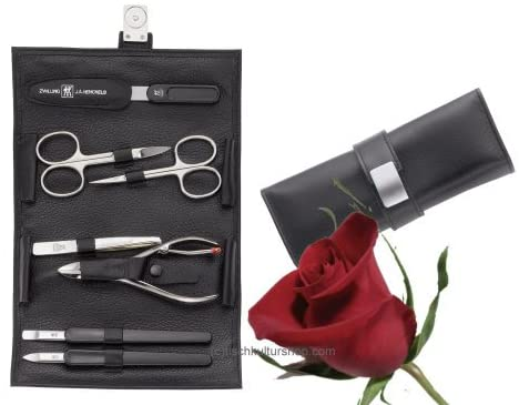 ZWILLING® TWINOX CLASSIC - Manicure case, 7 pcs.   |  Nickel plated |   97025-004