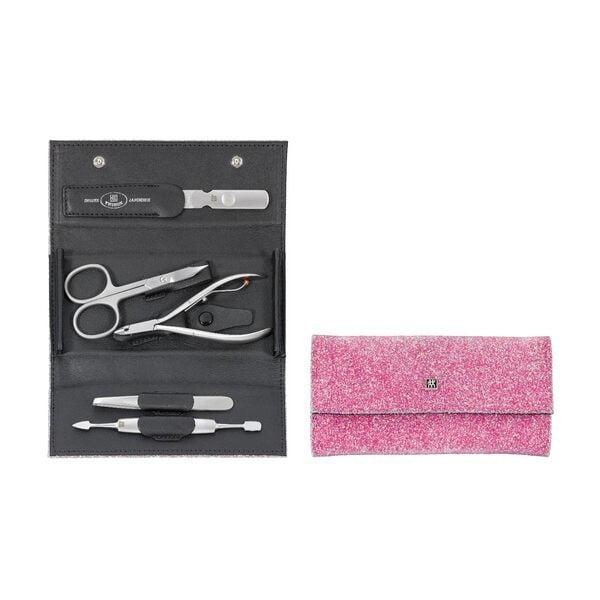 ZWILLING® Twinox Crystal  Manicure Set, 5-pcs.  | Pink |  97312-002