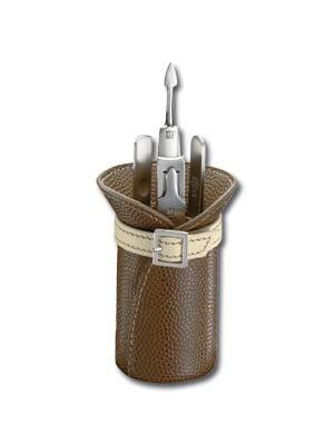 ZWILLING® TWINOX Elégance  Manicure Set, 4-pcs.  | Brown  | 97318-007