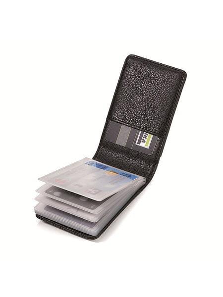 Troika Credit Card Case, 11 cm |MIDNIGHT | CCT69/LE