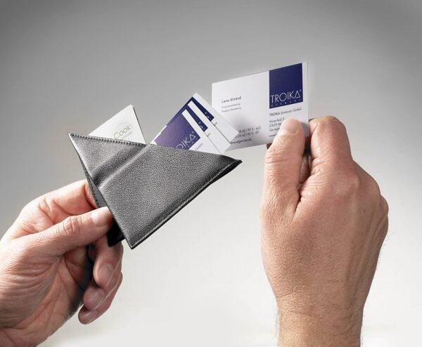 "Troika Credit Card Case ""KNIFF""  |Black |  CDC70/BK"