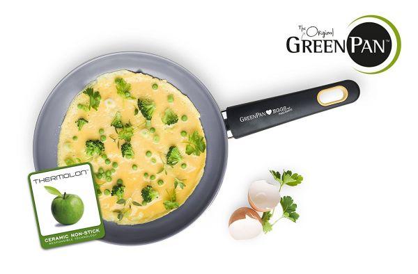 Green Pan siena 3D Frypan, Eggs and Pancakes, 24 cm CW000128005