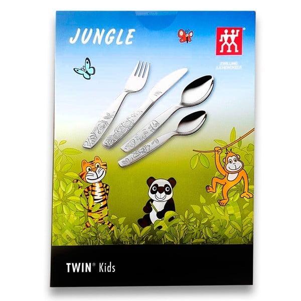 ZWILLING® Twin Kids Jungle Children's flatware set, 4-pcs 07135-610