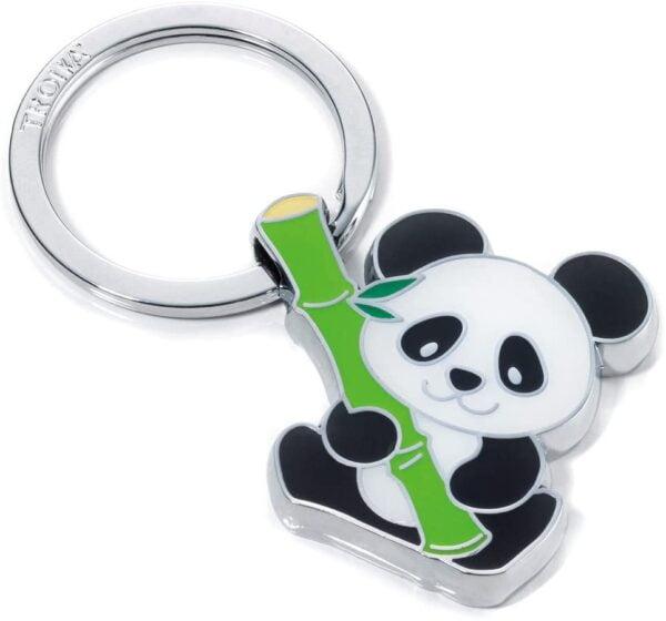 """Troika Key Ring """"Panda"""" KR10-10/CH"""