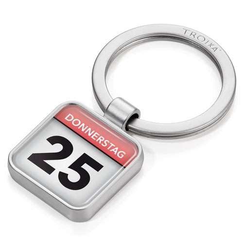 "Troika App Keyring ""Calendar""  KYR12-P02"