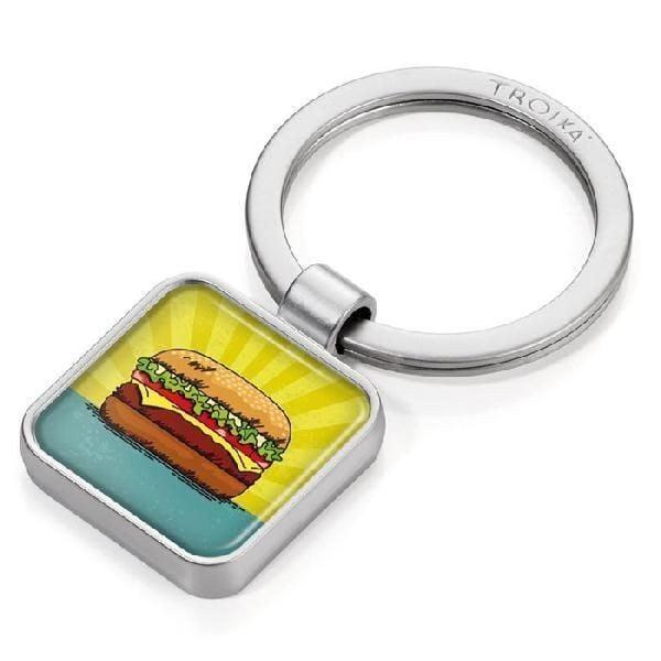 Troika App Keyring Burger KYR12-P14