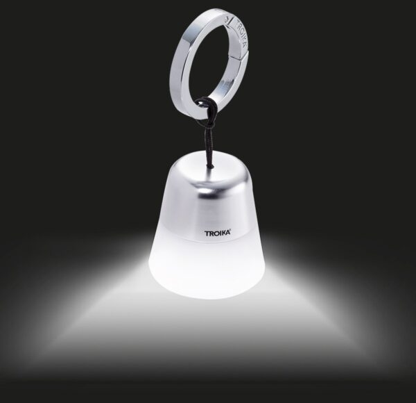 Troika Key Ring Torch Pocket Lamp TOR10/WH